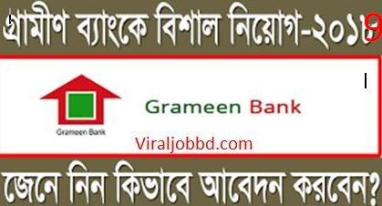 GRAMEEN BANK (GB)JOB CIRCULAR 2019