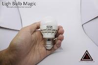 Alat sulap light Bulb Magic