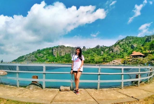 Harga tiket dan lokasi wisata embung nglanggeran Yogyakarta