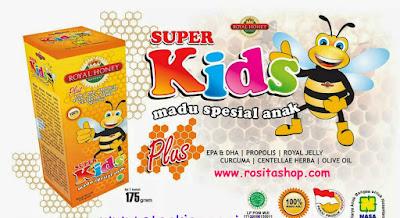 madu royal honey super kids nasa rositashop