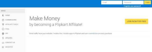 how to start Flipkart Affiliate