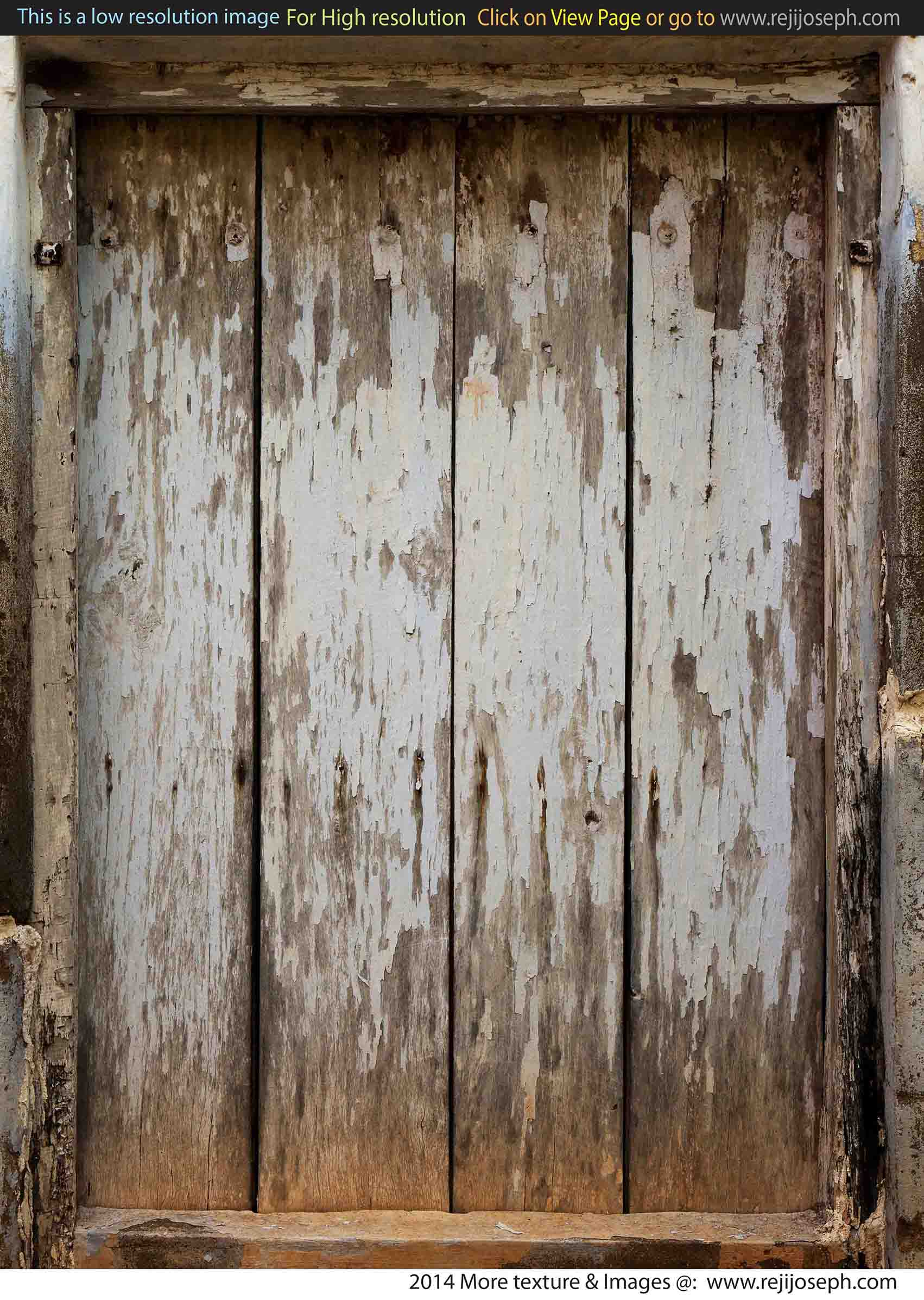 Old Wooden Door texture 00001