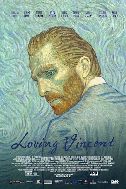 video cover for Loving Vincent, featuring self portrait of Vincent Van Gogh