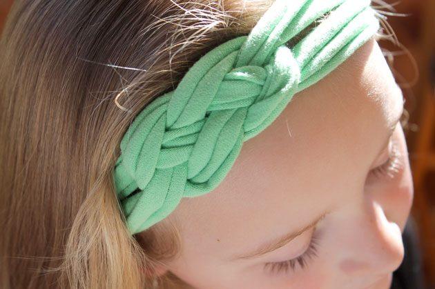 """...Aprenda: """"Como fazer """"Headbands""""  de malhas """"."""