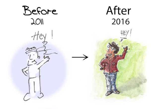before after comparatif dessin évolution personnage 画力変化ビフォーアフター