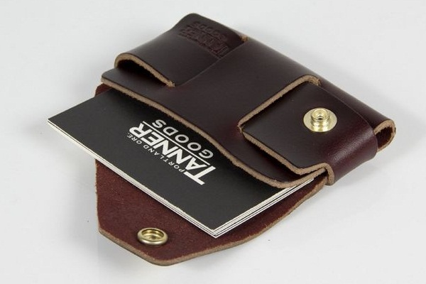 Leather Wallet and Cardholder