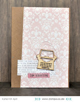Kartenwind : Geburtstagskarte #kartenwind #birthday #card #cardmaking #danipeuss