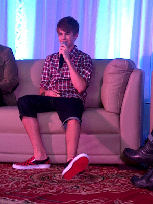Justin Bieber Live In Manila presscon photo