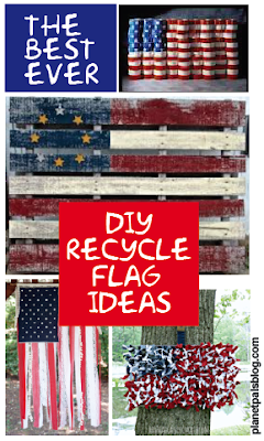 The best collection of Recycle Flag Ideas #DIY