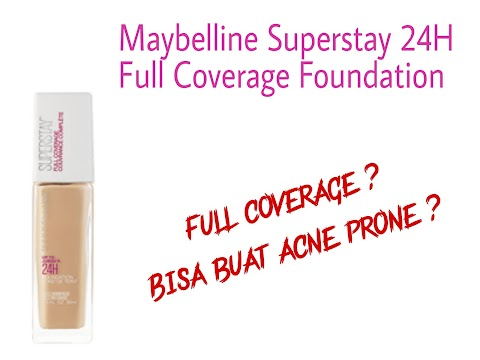Review Maybelline Superstay 24H Full Coverage Foundation - 128 Warm Nude
