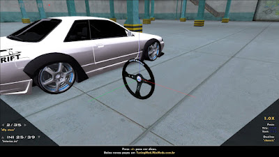 gta sa san tuning mod v3 tmv3 volante steering