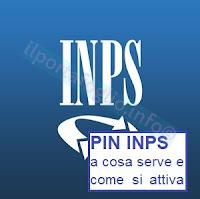 attivazione pin inps