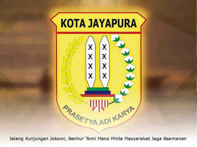Jelang Kunjungan Jokowi, Benhur Tomi Mano Minta Masyarakat Jaga Keamanan