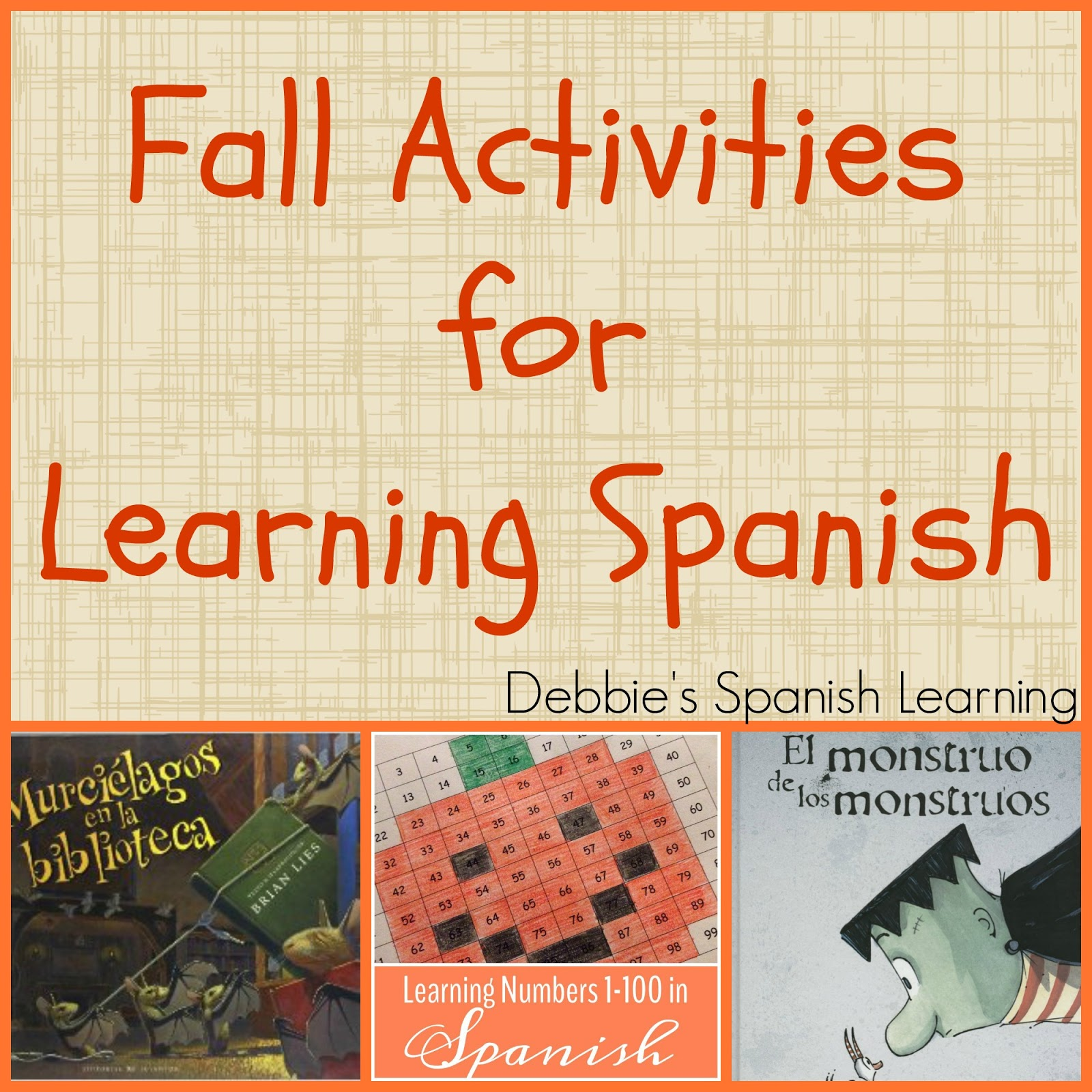 Debbie S Spanish Learning Fall Activities For Spanish Learning
