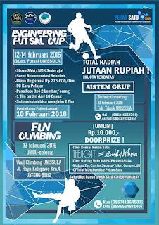 Engineering Futsal Cup⚽ Pekan satu 2016!