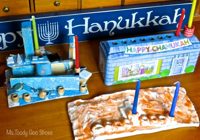 Hanukkah Decor - Ms. Toody Goo Shoes