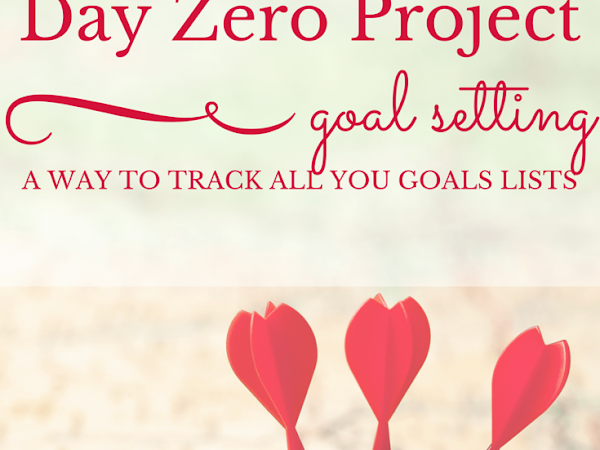 Goal Setting Tip of the Month: Day Zero Project