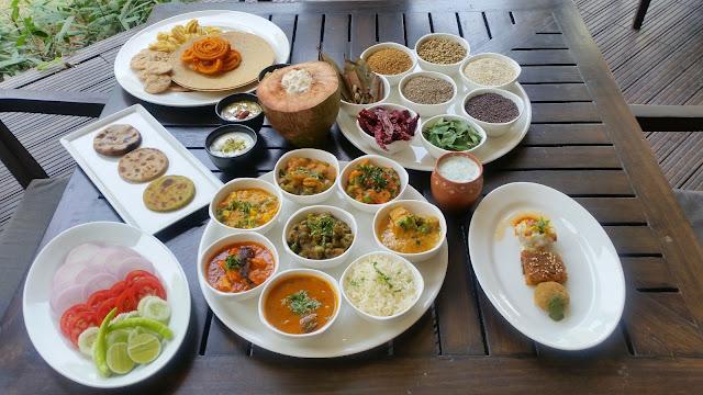 The Gujarati Buffet Spread