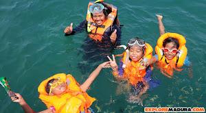 snorkeling di gili labak