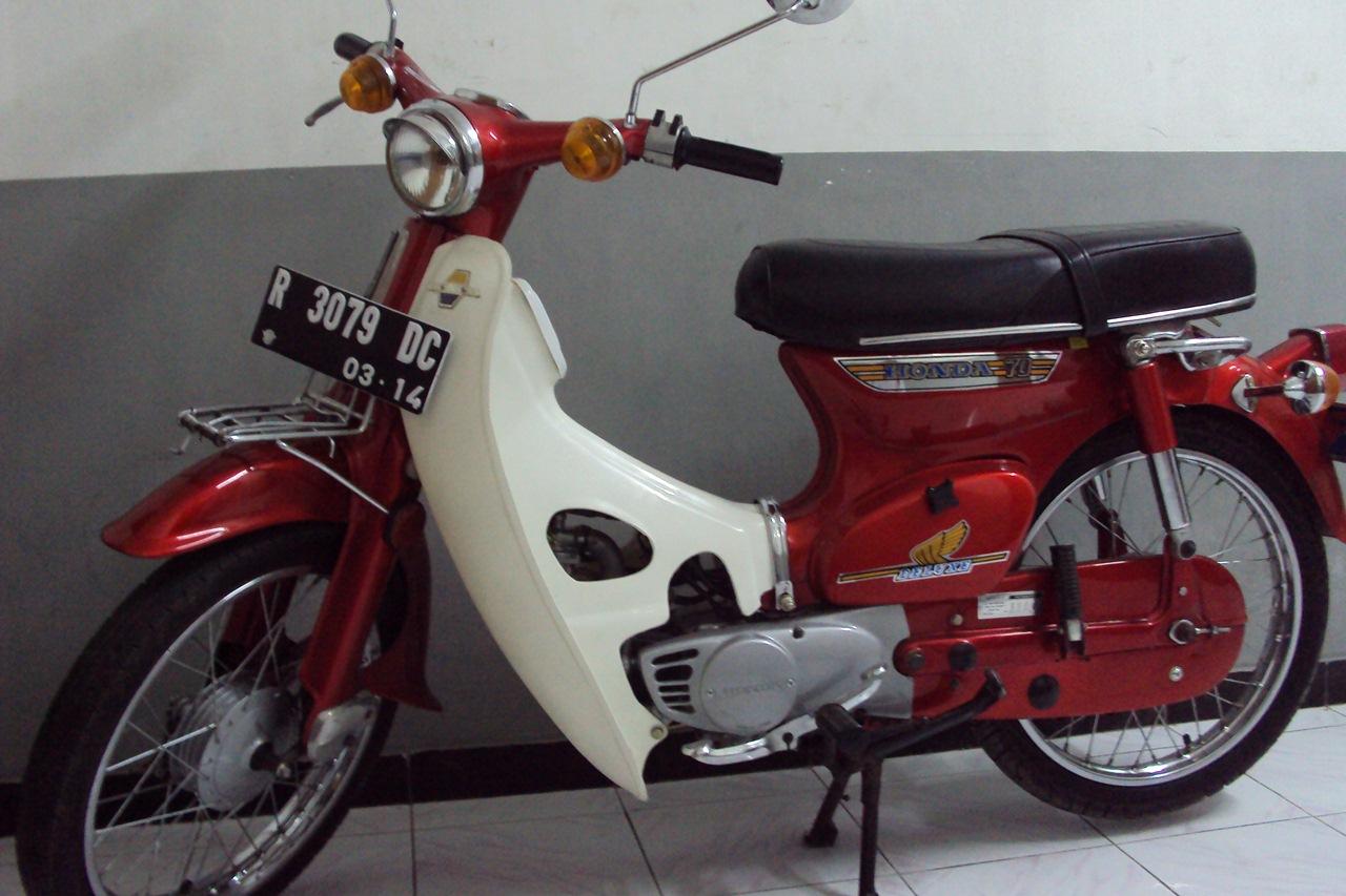 Foto Modifikasi Motor Antik Indonesia