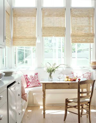 Hang Simple Window Treatments That Allow As Much Light Possible To Enter The Room Examples Include Painted Wooden Shutters Roman Blinds Roller