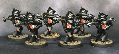 1st Legion Dark Angels Calibanite Heavy Support  Squad