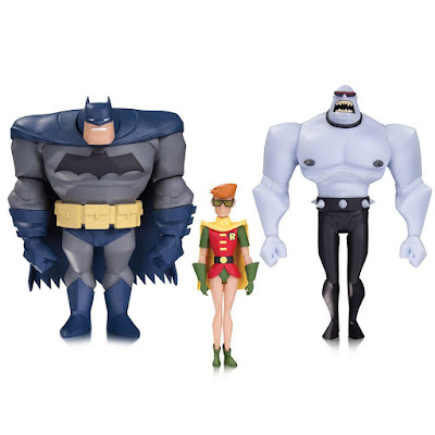"Batman The Animated Series ""Legends of the Dark Knight"" Action Figure 3 Pack - Batman, Carrie Kelley Robin & Mutant Leader"