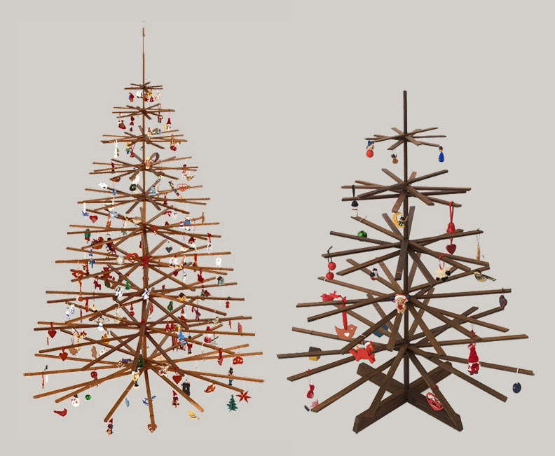 If It\'s Hip, It\'s Here (Archives): Modern Wood Christmas Tree By ...
