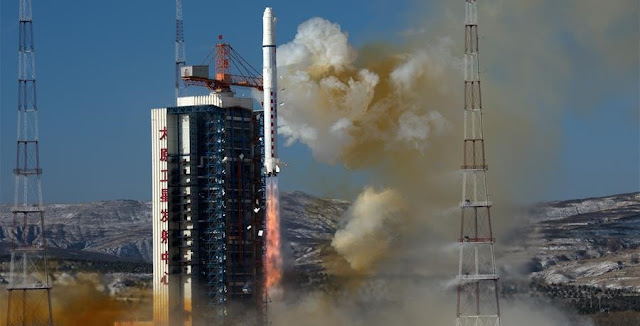 China kicked off the nation's 2018 launch manifest with the flight of two SuperView satellites on Jan. 9, 2018. Photo Credit: Cao Yang / Xinhua