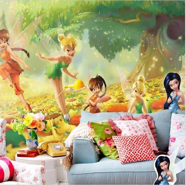 Disney Wall Mural Tinkerbell