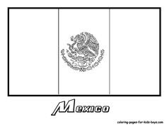 Mexico Coloring Pages - GetColoringPages.com | 182x236