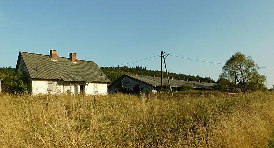 Pozostałości po PGR w Lipowcu.