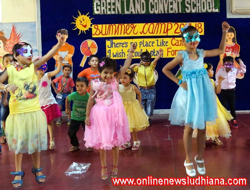 Two weeks Summer Camp concluded at Green Land Convent School