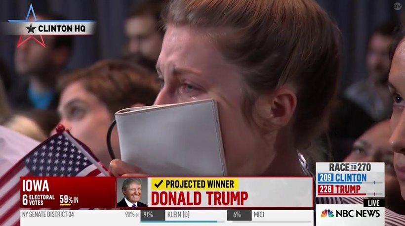 Ο Τραμπ νέος Πρόεδρος ΗΠΑ ~ Κλάμα τα νεοταξικά παπαγαλάκια