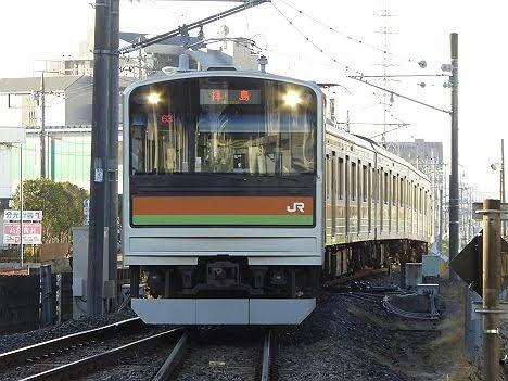 【ダイヤ改正前に廃車!】八高線205系3000番台