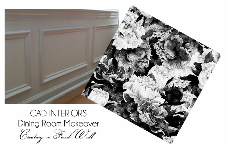 wainscoting paneling moldings mid century farmhouse dining room interior design decorating