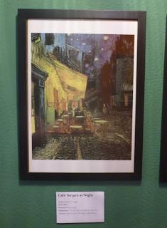 Pinacothèque Jesse Guelfi - Aula particular de inglês com Arte - Café Terrace at Night