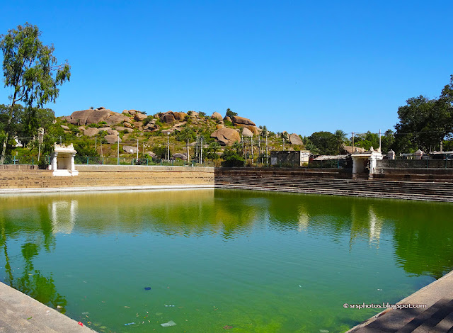 There is one Beautiful Sarovar at the base of the Shivaganga Hills, Dobbaspet, Bangalroe
