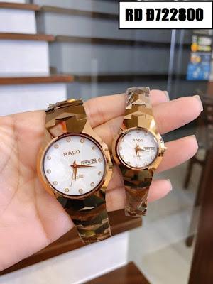 Đồng hồ cặp đôi đẹp nhất RD Đ722800