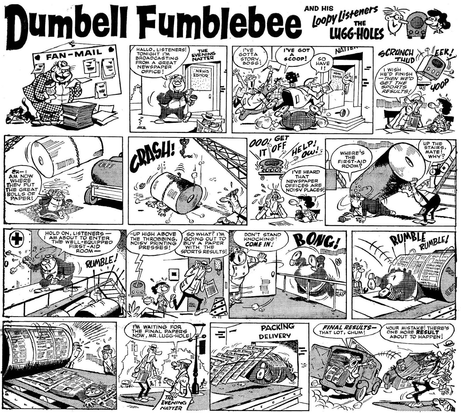 Dumbell Fumblebee, Buster nº 20 por Rojas
