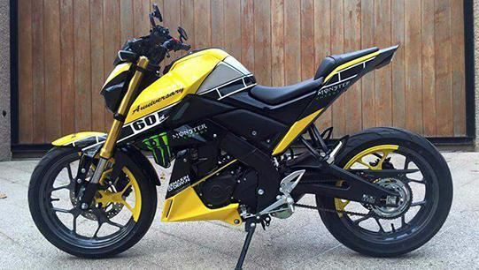 Foto Modifikasi Yamaha Xabre