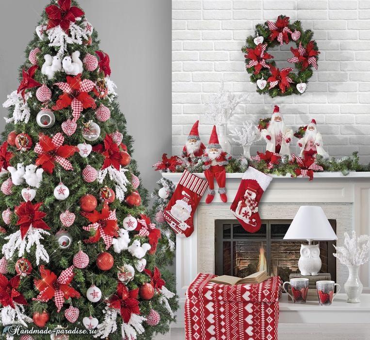 Красивый дизайн интерьера к Рождеству (3)