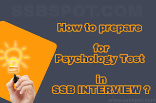 How to prepare for Psychology Test in SSB ?