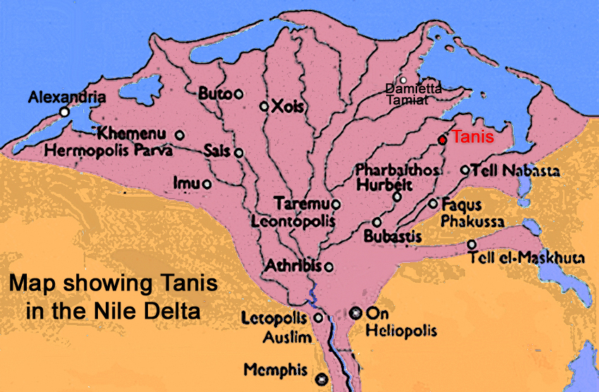 Tanis Egypt Map.Coastconfan Blog Ancient Tanis Forgotten Occasionally But Not Lost