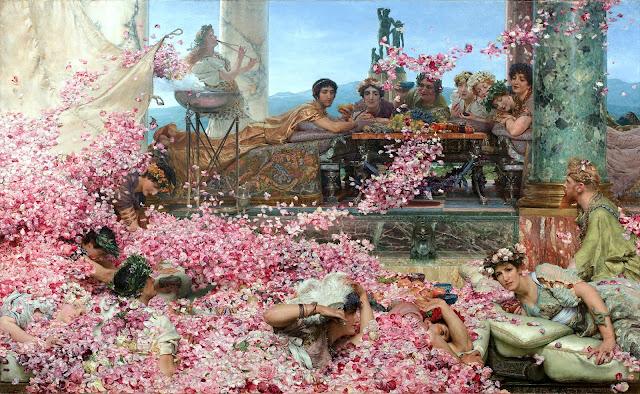 Las rosas de Heliogábalo