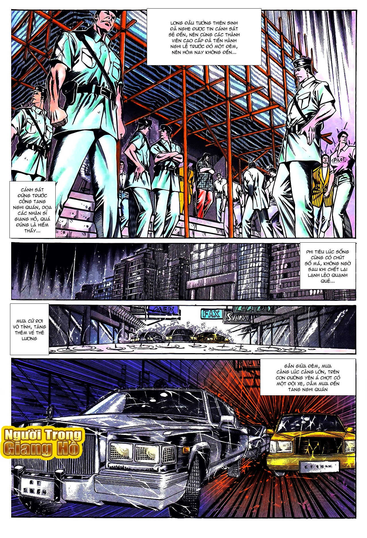 Người Trong Giang Hồ chapter 109: đại ca hùng phong trang 3