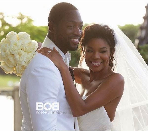Gabrielle Union and Dwayne Wade's wedding 54
