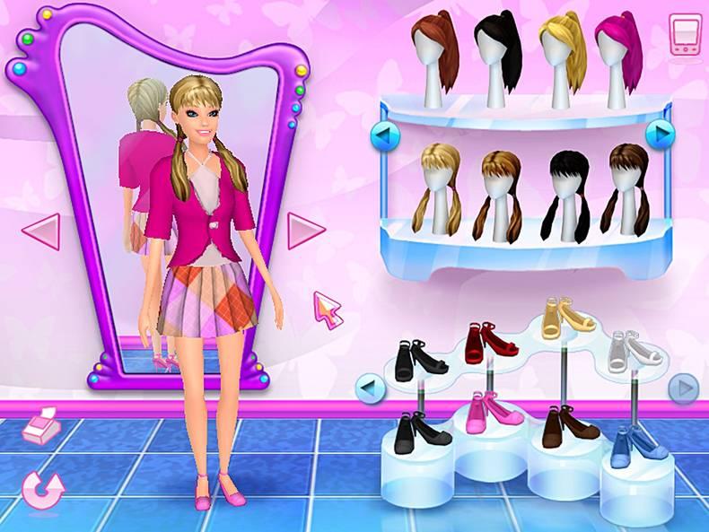 Barbie Hair Cut Games