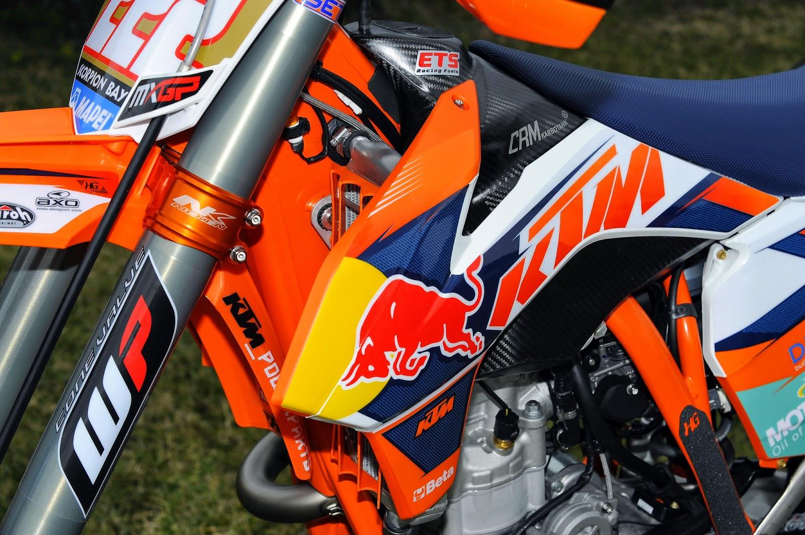 Racing Cafè: KTM SX-350F Tony Cairoli Team Red Bull KTM ...