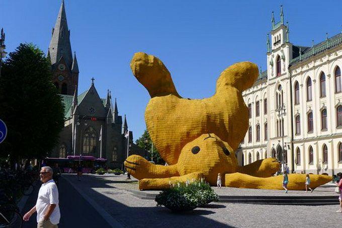 Escultura gigante